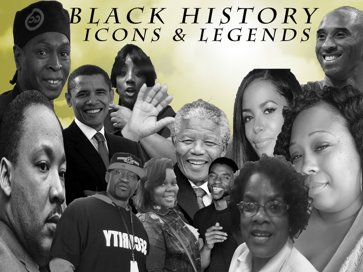 This project here represents the histories of Icons & Legends that was dealing slavery to fight for their freedom, careers, and helping their children on the right path to get where they need to be in life. #BlackLivesMatter #BlackHistoryAlways