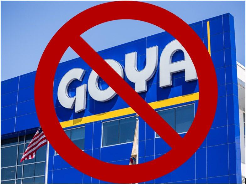 Goya Foods CEO falsely says election was illegitimate, Trump is 'the real, and the still actual president🤬 #BoycottGoya #GOPCorruptionOverCountry #GOPBetrayedAmerica #GOPCowards #GOPComplicitTraitors #GOPHypocrisy #Facisim #stopFacism #Putin #America #DCRiots #LockThemAllUp