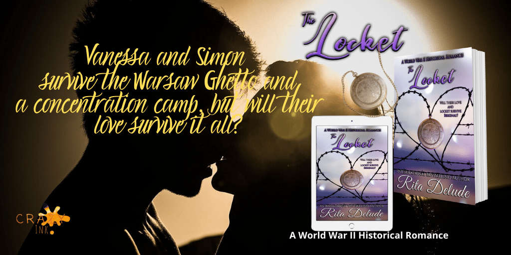 The Locket Rita Delude Will their love survive Hitler's hate?   #bookclubpo1 #HistoricalRomance #Holocaust #holocaustremembranceday #War #Romance     by #author_rita