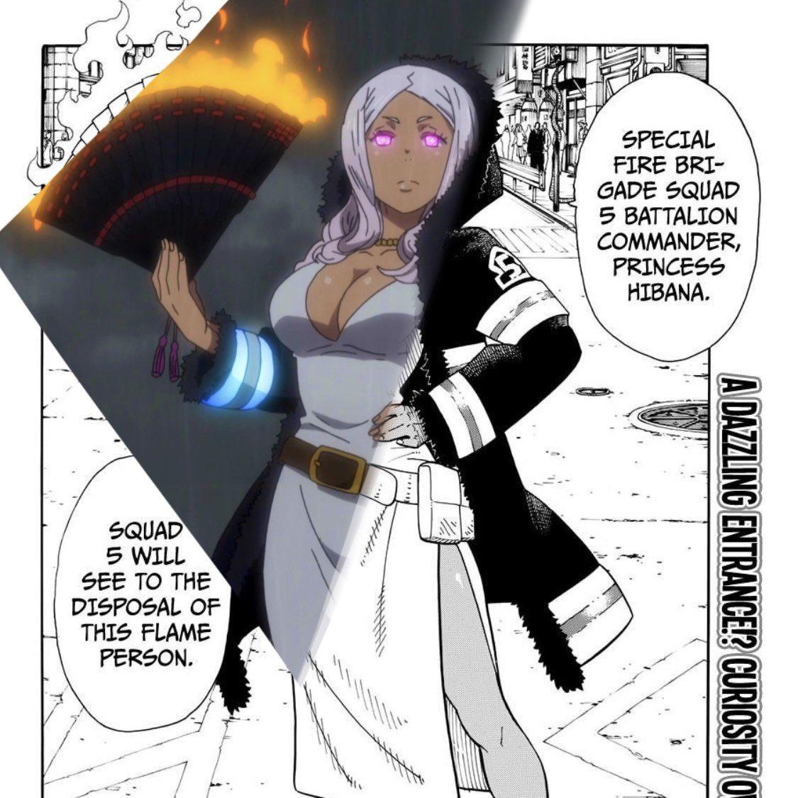 Commander Princess Hibana 💜  #FireForce