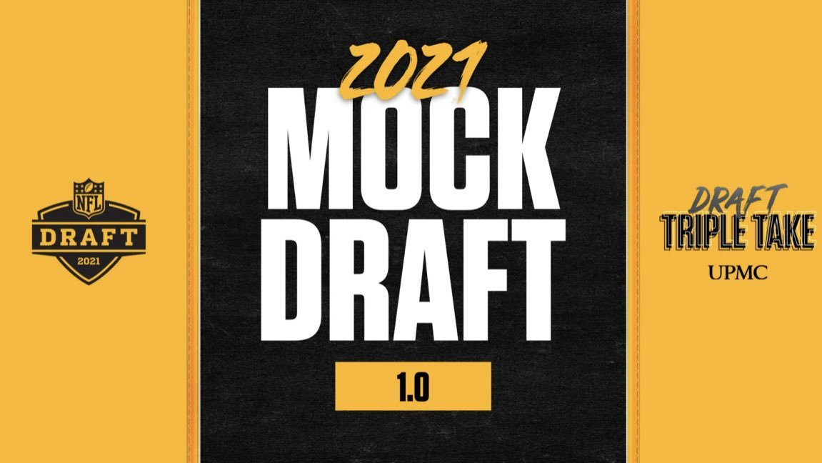 Triple Take Mock Draft 1.0 #Steelers