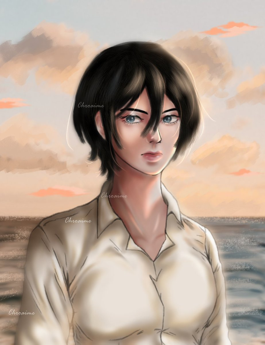 Time Skip Mikasa  #aotredraw #mikasaredraw #進撃の巨人 #ShingekiNoKyojin #artph #snk #aot #AttackOnTitan #MikasaAckerman #fanart #snkredraw #anitwt #anime #AnimeArt #art #digitalillustration