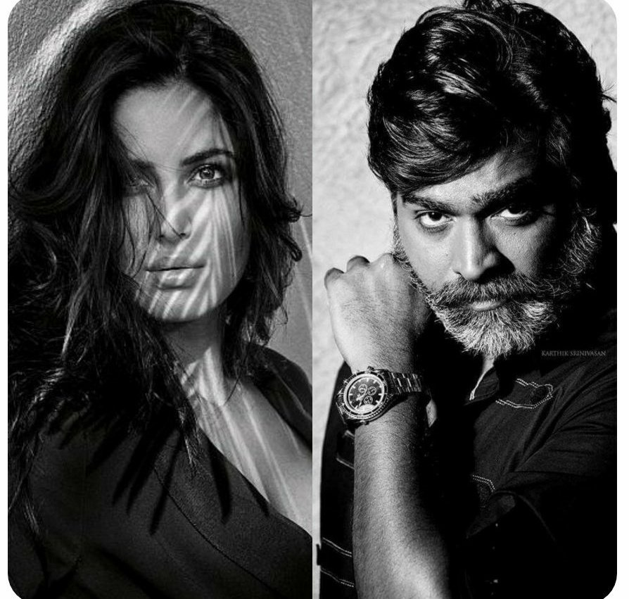 🧐🎬 #TicketNewBuzz 📽🧐  Official Announcement Soon ! 🤩✨  #KatrinaKaif and #VijaySethupathi's next, to be directed by #SriramRaghavan is titled #MerryChristmas. It's an edge of the seat thriller, produced by #RameshTaurani and goes on the floors in April.