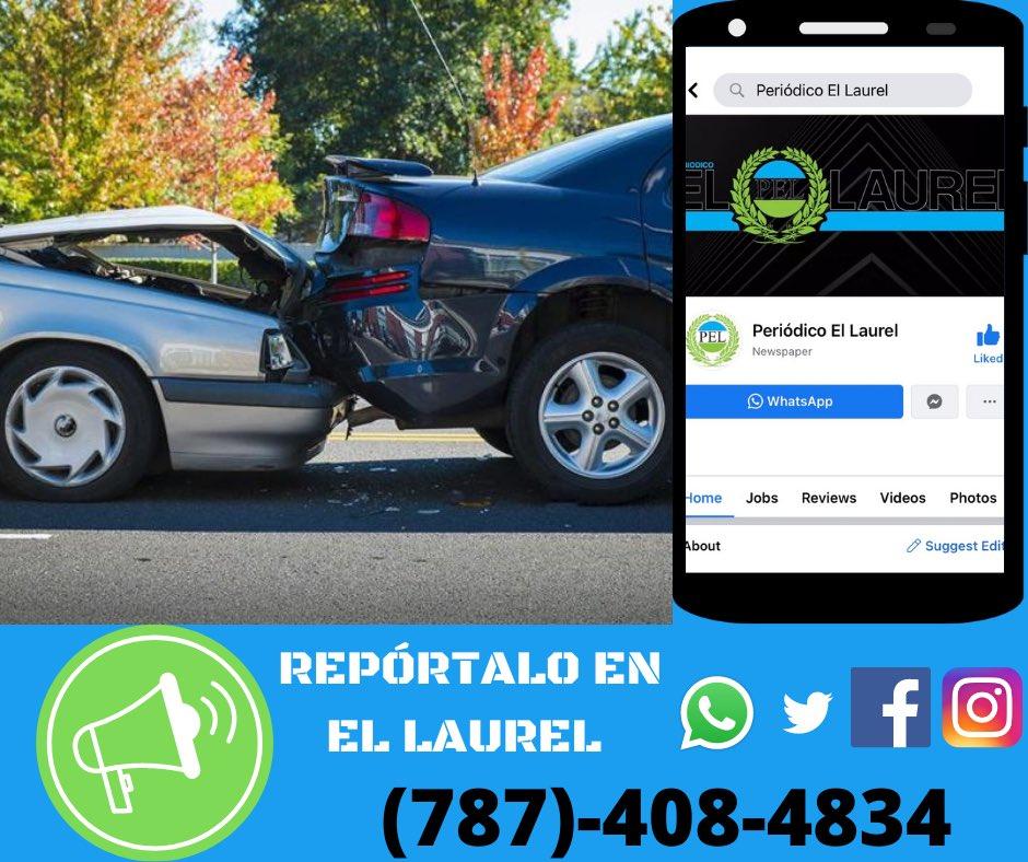 ¿Alguna situación? #ReportaloEnElLaurel   Se nuestro #CiudadanoReporta enviando un mensaje de texto al (787)-408-4834 o escribiéndonos a nuestro inbox en cualquiera de nuestras plataformas digitales. #PuertoRico #Ponce #SanJuan #Mayaguez #Fajardo #Culebra #Vieques