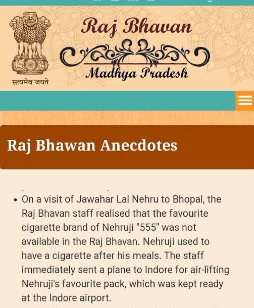 Nehruji had taste.