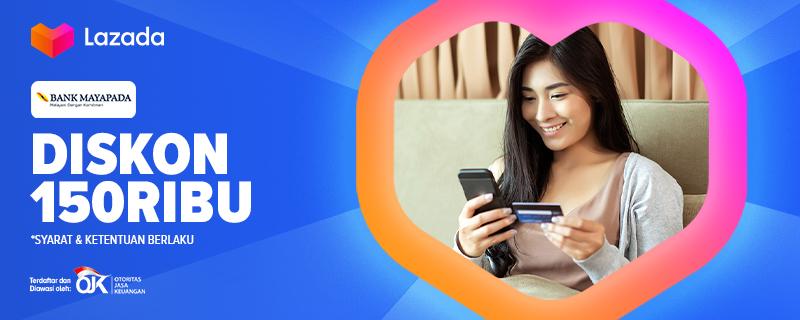 Bayar ngga pake pusing, ribet dan dapet bonus? Bank Mayapada punya promo spesial yang pas buat kamu! Dengan menggunakan Bank Mayapada untuk transaksi kamu bisa dapet diskon hingga 150 Ribu loh. Yuk cek link berikut :   #YakinDariHati #Lazada33Sale #LazadaID