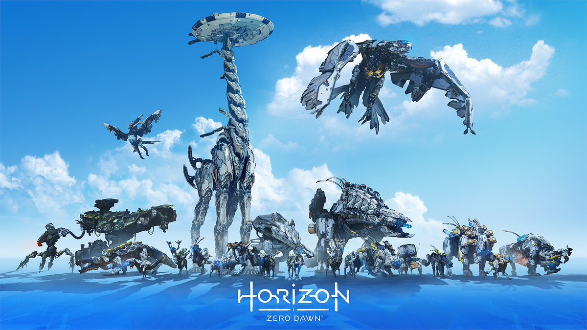 HorizonZeroDawnが4周年、続編は今年後半発売の見込み?