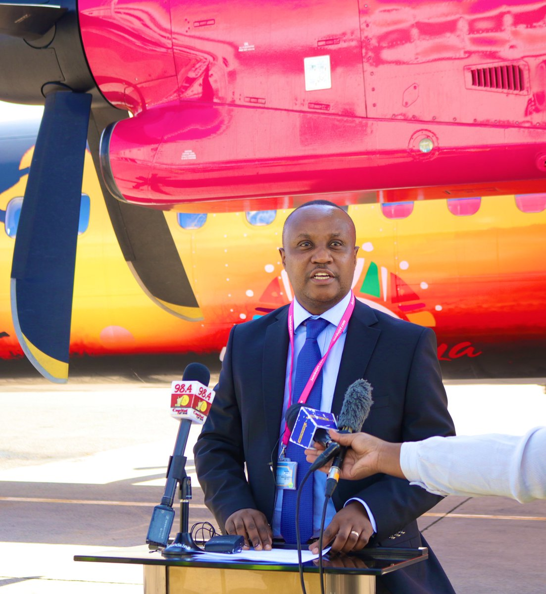 'In September 2020, we launched the #NowTravelReady campaign to encourage domestic tourism as part of post COVID-19 recovery. This partnership with KTB will further drive this conversation in a bid to revive the sector.' - Jambojet Head of operations, Capt. Michael Kwinga