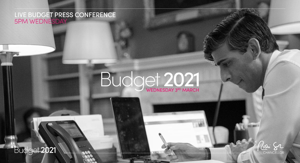 This Wednesday, in a Budget first, I will be taking questions from the public and the press straight after my statement.  Live from 5pm. #Budget2021