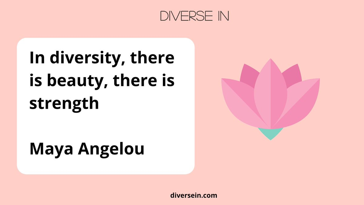 """""""In diversity, there is beauty, there is strength"""" Maya Angelou    #Friday #diversity #equality #inclusion #leadership #culture #fridaymorning  #inclusiveleadership #diversityandinclusion #emotionalintellegence #Linkedin"""