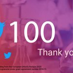 Image for the Tweet beginning: 100 - that's great! 🎉Thank