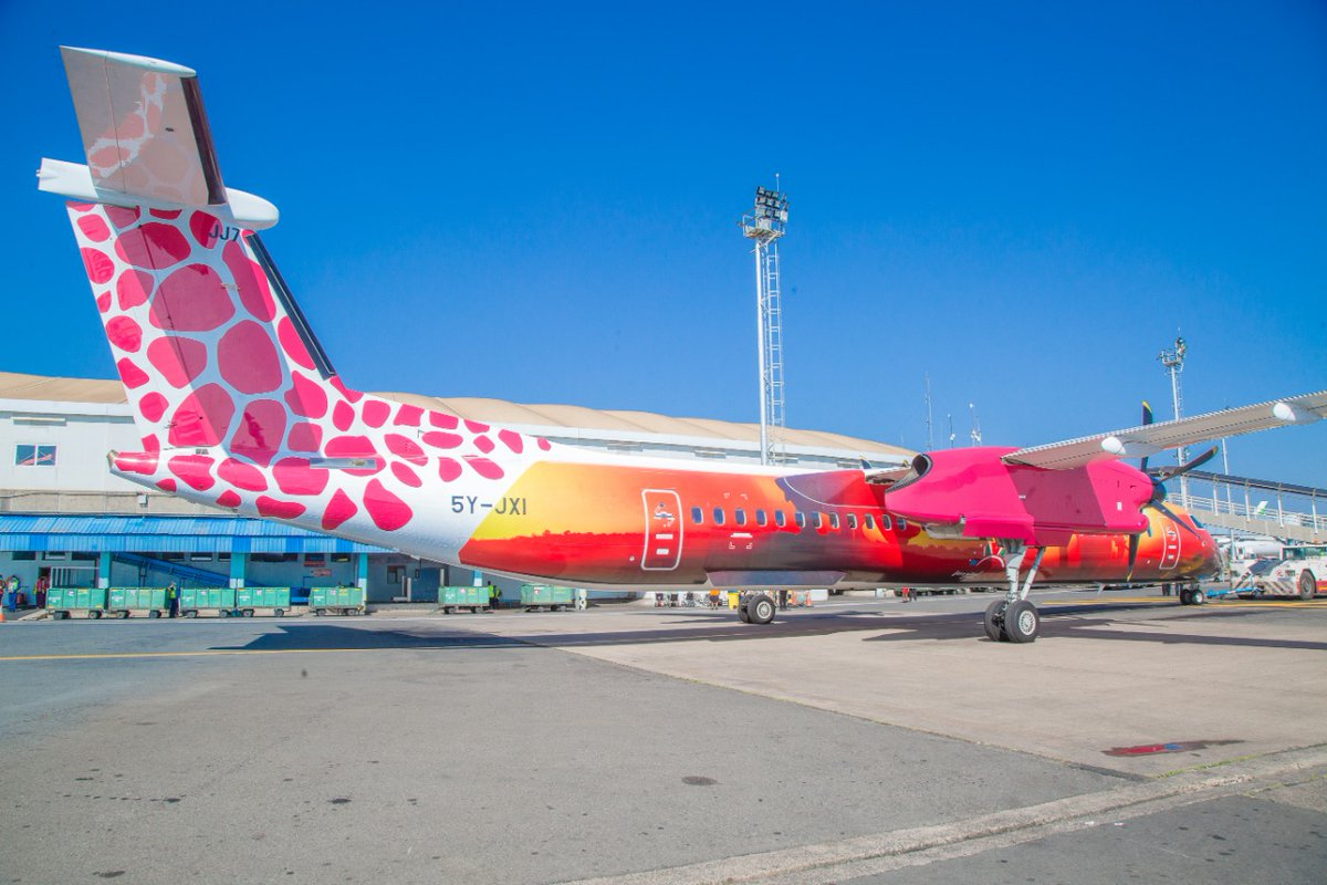 Today we have unveiled the @FlyJambojet aircraft that will showcase Magical Kenya through our brand assets across local destinations . This collaboration aims at enhancing the destinations brand visibility and talkability . #RediscoverTheMagic #SafeTravels
