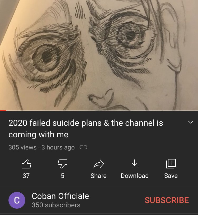 Urgent message to the community.  We want to help spread awareness on a good friend of Etika's. Coban Abrego also known as Cobanermani456 has been revealing suicide plans. Please share and RT to help save him from taking his life. We can't lose another one of us to suicide.