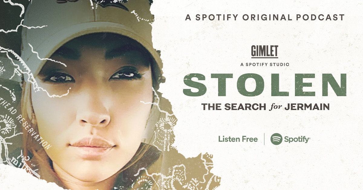 In 2018, a young Indigenous mother left a bar in downtown Missoula, Montana, and was never seen again. @connie_walker retraces what might have happened to Jermain Charlo. Listen right now, for free, only on @spotify. https://t.co/MtOPmQ3pcL #StolenPodcast https://t.co/gRzYVGSsBO