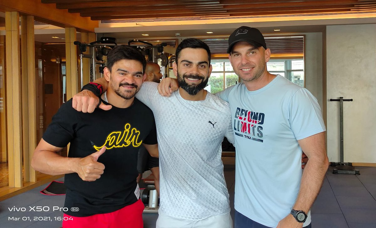 The boys who make life hard in the gym but easy on the field🤝👏🇮🇳