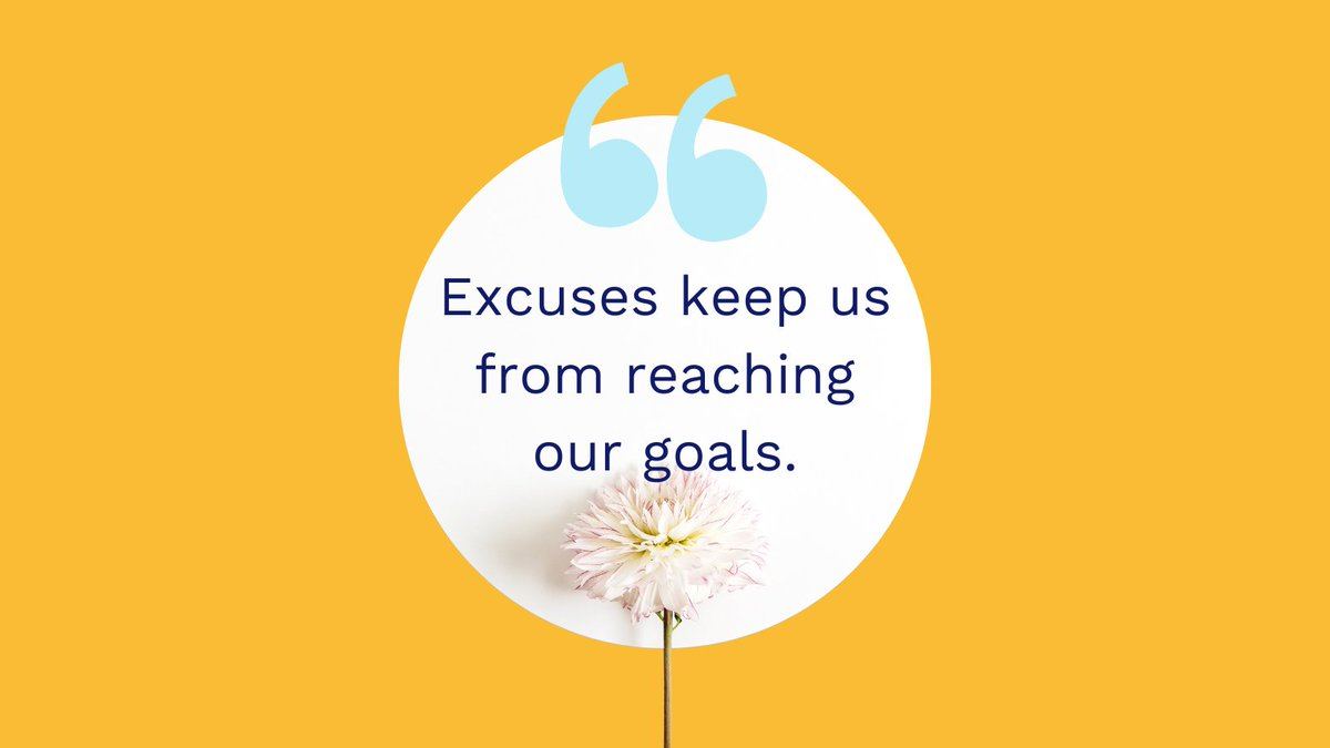 Being honest with ourselves and taking responsibility for our choices can help us see what the real problems are, solve them, and move forward.  It may be easier to give excuses, but reaching our goals can make us happier.  #MondayInspiration #Inspiration #HandleMyComplaint #HMC
