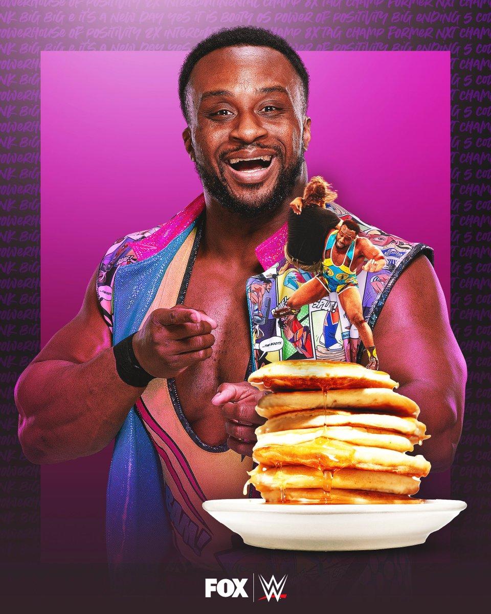 Happy Birthday to Intercontinental Champion, @WWEBigE!  🦄🥞