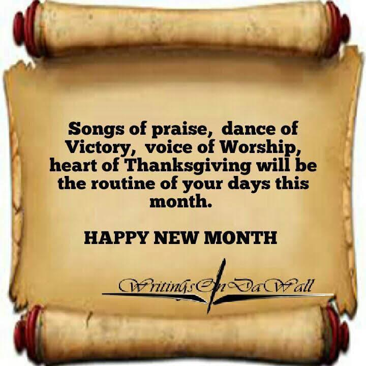 Morning, everyone We wish you all happy new month. We shall experience God's intervention in every ramifications. #blessed #GoodMorningTwitterWorld #goodmorning #HappyNewMonth  #Twitter