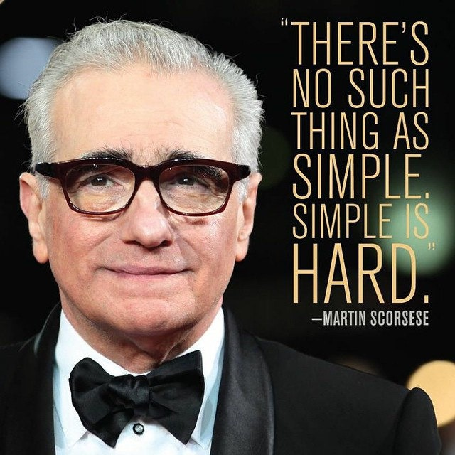 Listening to the maverick himself today! The hardest thing to create is a simple thing... #MondayThoughts
