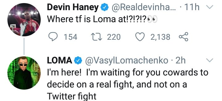 Bang shots fired 🔫  Who wins this fights if it happens next ?