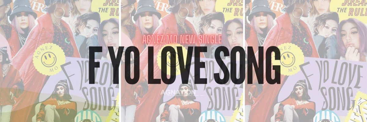 .@agnezmo's new single 'F Yo Love Song' 🔥 Be ready! #AGNEZMO #FYoLoveSong