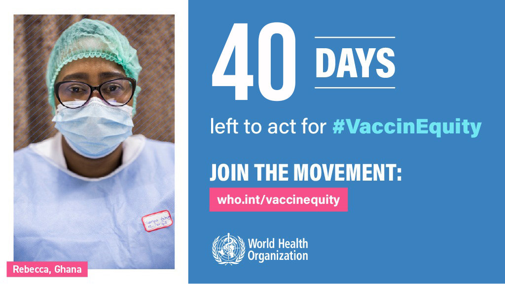 A year into the #COVID19 pandemic, we must come together to protect and invest in the people who protect us all, no matter where they live.  Sign the declaration for #VaccinEquity: 👉
