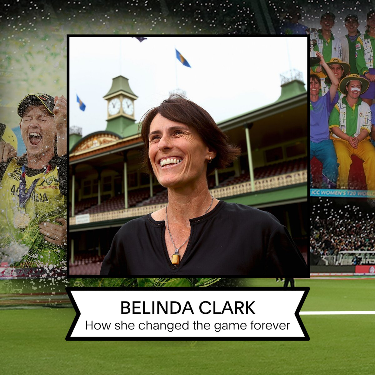In the lead up to #IWD2021, we're celebrating some of the key figures who challenged the status quo to drive the women's game forward 💪    Who better to start with than the great Belinda Clark! #ChooseToChallenge