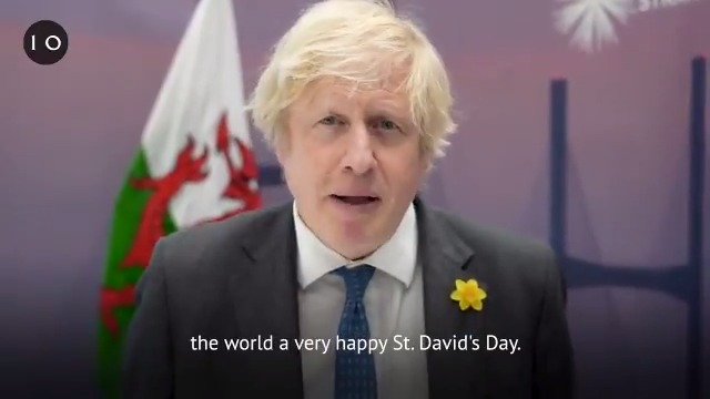 I would like to wish people in Wales and Welsh people around the world a very happy #StDavidsDay.   Diolch for everything that you're doing throughout this pandemic, and Dydd Gŵyl Dewi Hapus! 🏴