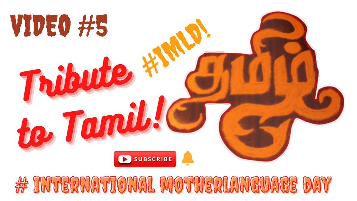 #Internationalmotherlanguageday #IMLD #tamil #tamilan #tamilanda #tamilzhi #tamillove #motherlanguageday #tamilnadu #rangoli #rangolidesign #rangoliart #rangolidesigns #kolam #rangolis #easyrangoli   If you like this video please subscribe
