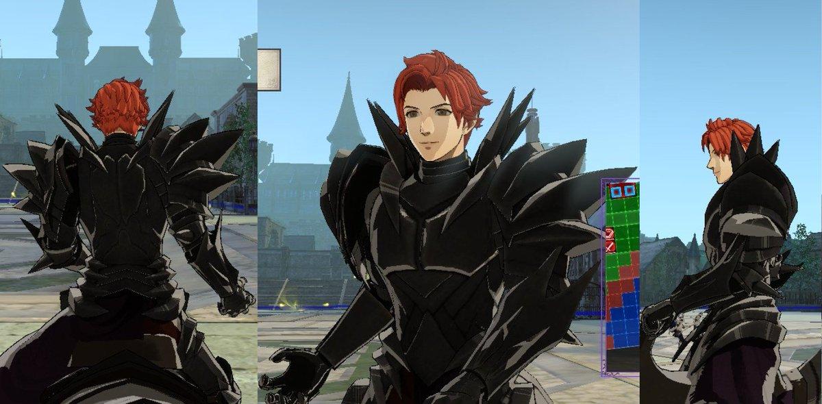 sylvain (Dark Knight armor close-ups) https://t.co/Ao2uZSCqZK