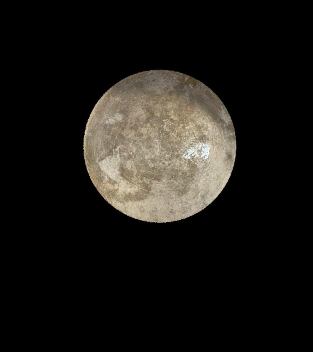 鍋の底で出来た月がめちゃくちゃ綺麗すぎるんだが‼