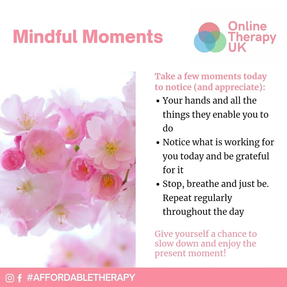 Mindful Moments 🥰 #affordabletherapy #mindfulness #meditation #therapy #mentalhealth #mentalhealthawareness #mentalhealthmatters #selflove #selfcare