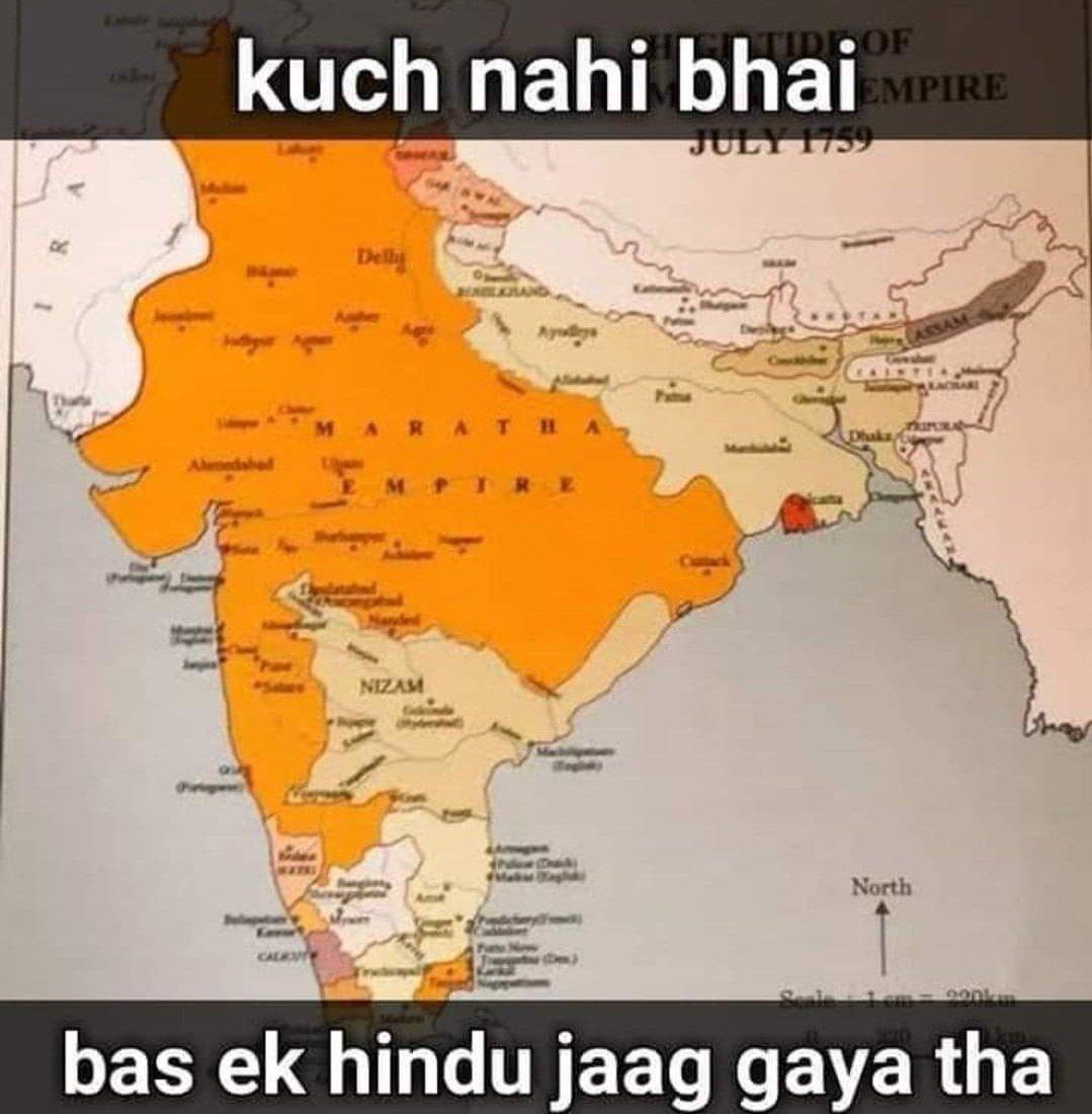 Jis din har hindu ke andar #ShivajiMaharaj zinda ho gaya us din #HinduRashtra ka sapna sirf sapna nhi reh jayega