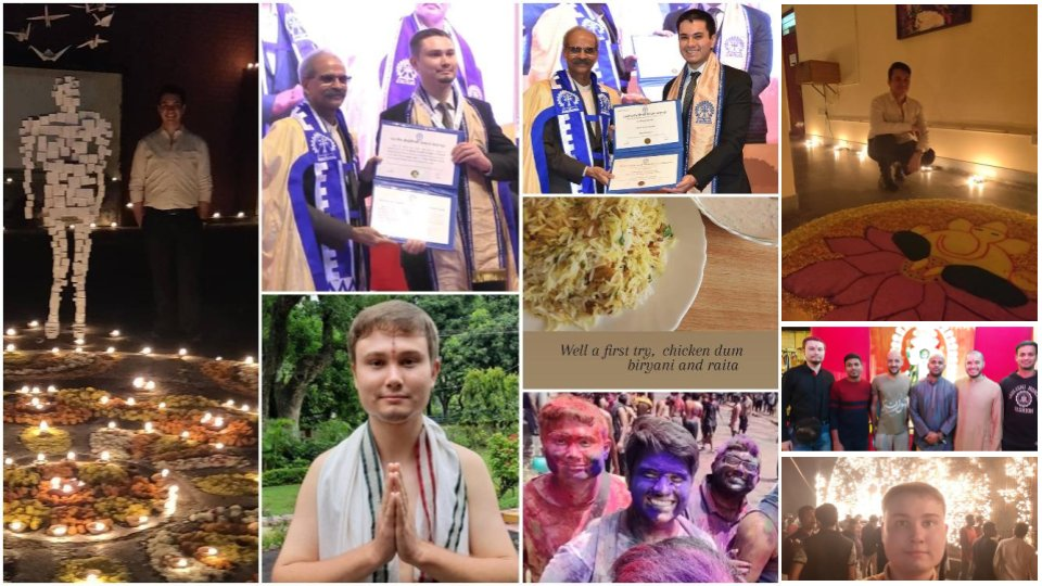 India has been an inspiration to many across geography & history. Following the trail two international students made @IITKgp their home while pursuing excellence in higher education in India.  Here is the story of Pavel from Russia and Juan from Colombia