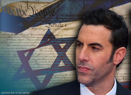 Sacha Baron Cohen, bouffon d'Israël