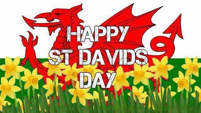 Happy #StDavidsDay to all my Welsh Family and Friends ❤️ #wales #home  #family #friends 🥰