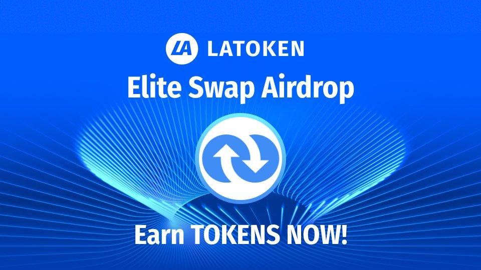Earn a share of 6 million $ELT coins on LATOKEN. 💰  Join the @EliteSwap2020 Airdrop, and complete easy social tasks to earn rewards.  Start earning! 👉   #cryptocurrency #LatokenApp #LATOKEN #Bitcoin