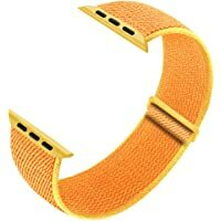 Best Seller for smartphones/accessories- buy now #blogging #TBT #FoundItOnAmazon              Ruiboo Sport Loop Band Compatible with Apple Watch Band 38mm 40mm 42mm 44mm iWatch Series 6 5 SE 4 3 2 1 Strap, Nylon Velcro Women Men Stretchy Elastic Braided …