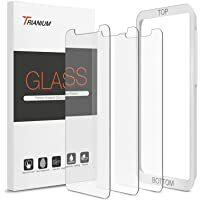 """Best Seller for smartphones/accessories- buy now #blogging #TBT #FoundItOnAmazon              Trianium (3 Packs) Screen Protector Designed for Apple iPhone 11 Pro Max, iPhone XS Max (6.5"""" 2018) Premium HD Clarity 0.25mm Tempered Glass Screen Protector Ea…"""