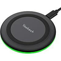 Best Seller for smartphones/accessories- buy now #blogging #TBT #FoundItOnAmazon              Yootech Wireless Charger, Qi-Certified 10W Max Fast Wireless Charging Pad Compatible with iPhone 12/12 Mini/12 Pro Max/SE 2020/11 Pro Max,Samsung Galaxy S21/S20…