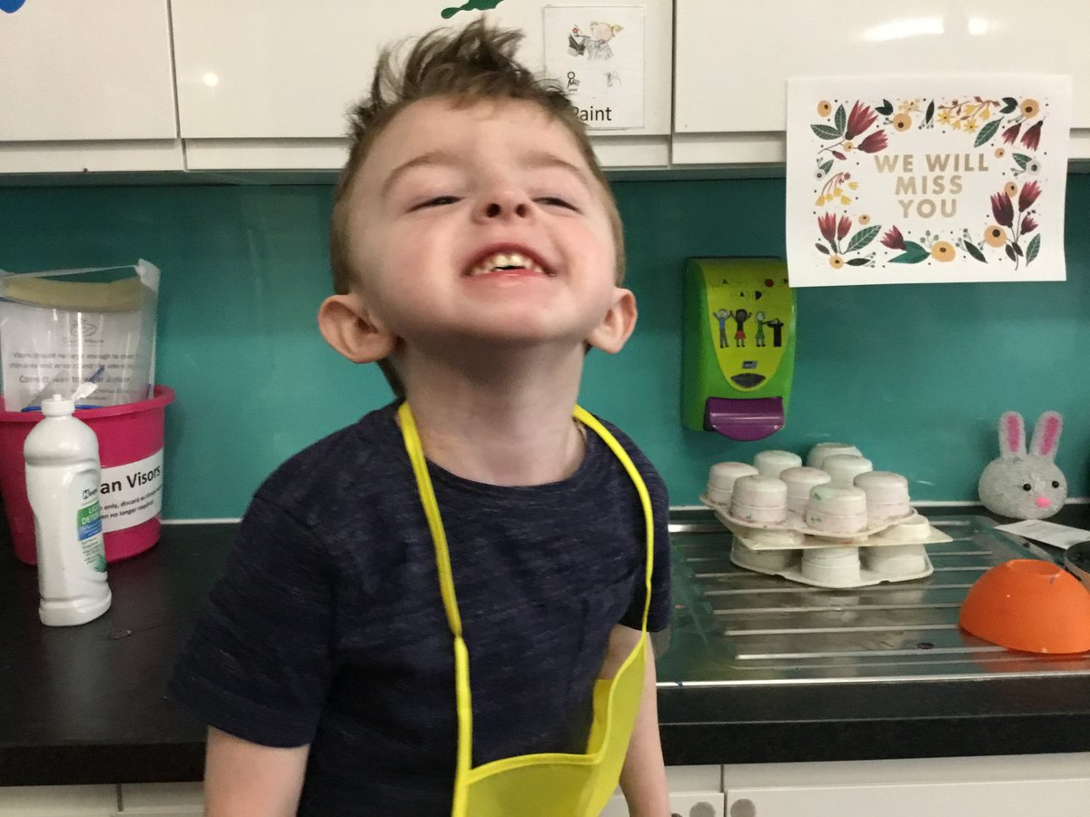 It's the 1st March which means... it's the start of our #ButterflyBake month. 🕒🍰🦋  Louie was our #starbaker this week, he loved whisking up tasty cupcakes in our art room.    Test your baking skills & take part throughout March.   Sign up here👉
