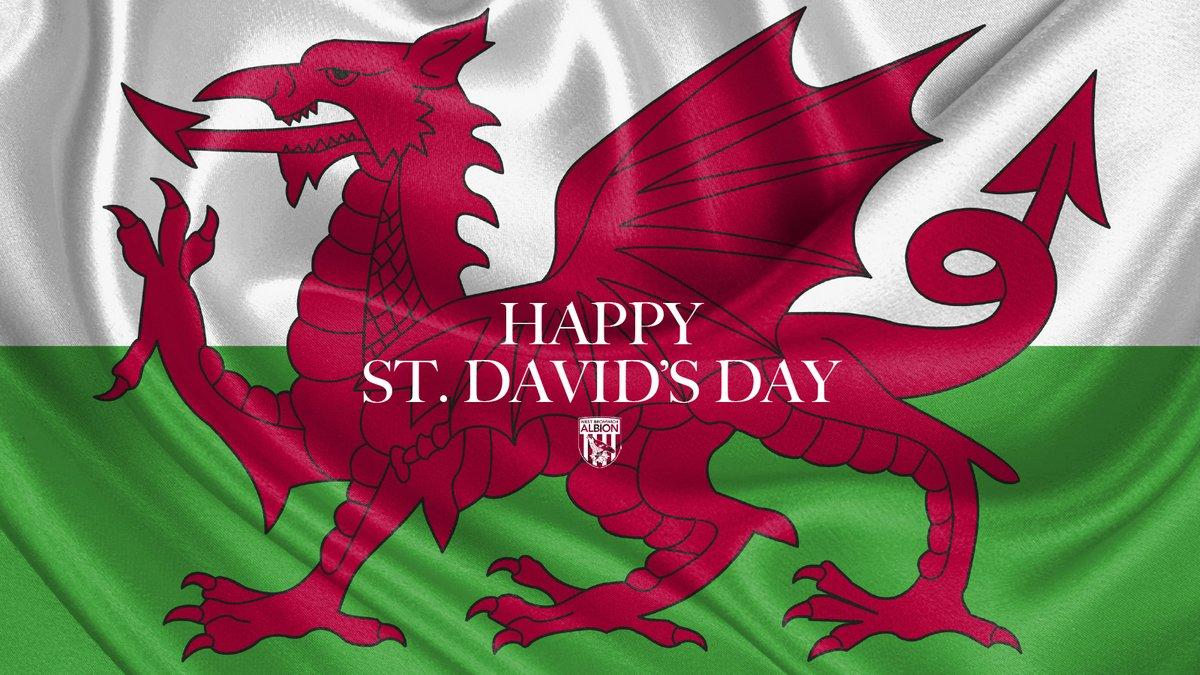 Replying to @WBA: Happy St David's Day! 🏴