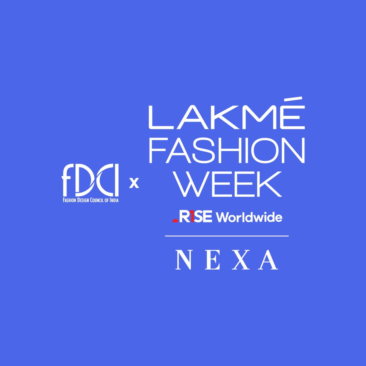 """As Lakmé Fashion Week ventures into a newly formed alliance with the Fashion Design Council of India (FDCI), here's the new """"unity logo"""", specially designed to mark this historic partnership.   @LakmeFashionWk @fdciofficial #LakmeFashionWeek #5DaysOfFashion #LFW #RiseAsOne"""