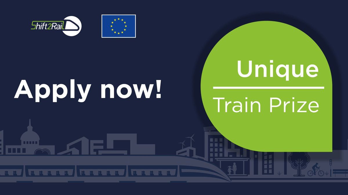 Want an interesting challenge? Apply to develop an innovative solution that will allow the tracking of all commercial #freight trains, from all #railway undertakings, covering the whole 🇪🇺European network 🗓️Deadline: 21 September 2021 ➡️APPLY HERE: bit.ly/3e8B4lM