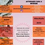 Image for the Tweet beginning: Actividades programadas desde as Casas