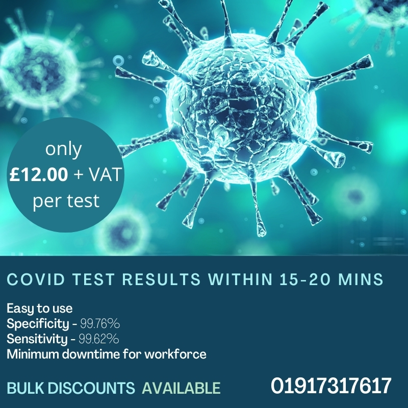 #Lateralflow tests are pivotal to the government's strategy to reduce the spread of the coronavirus by identifying asymptomatic patients. Buy yours @MediInnUkLtd #sme #nefollowers #smallbusiness  #staysafe #coronavirus #covid19 #rapidtesting