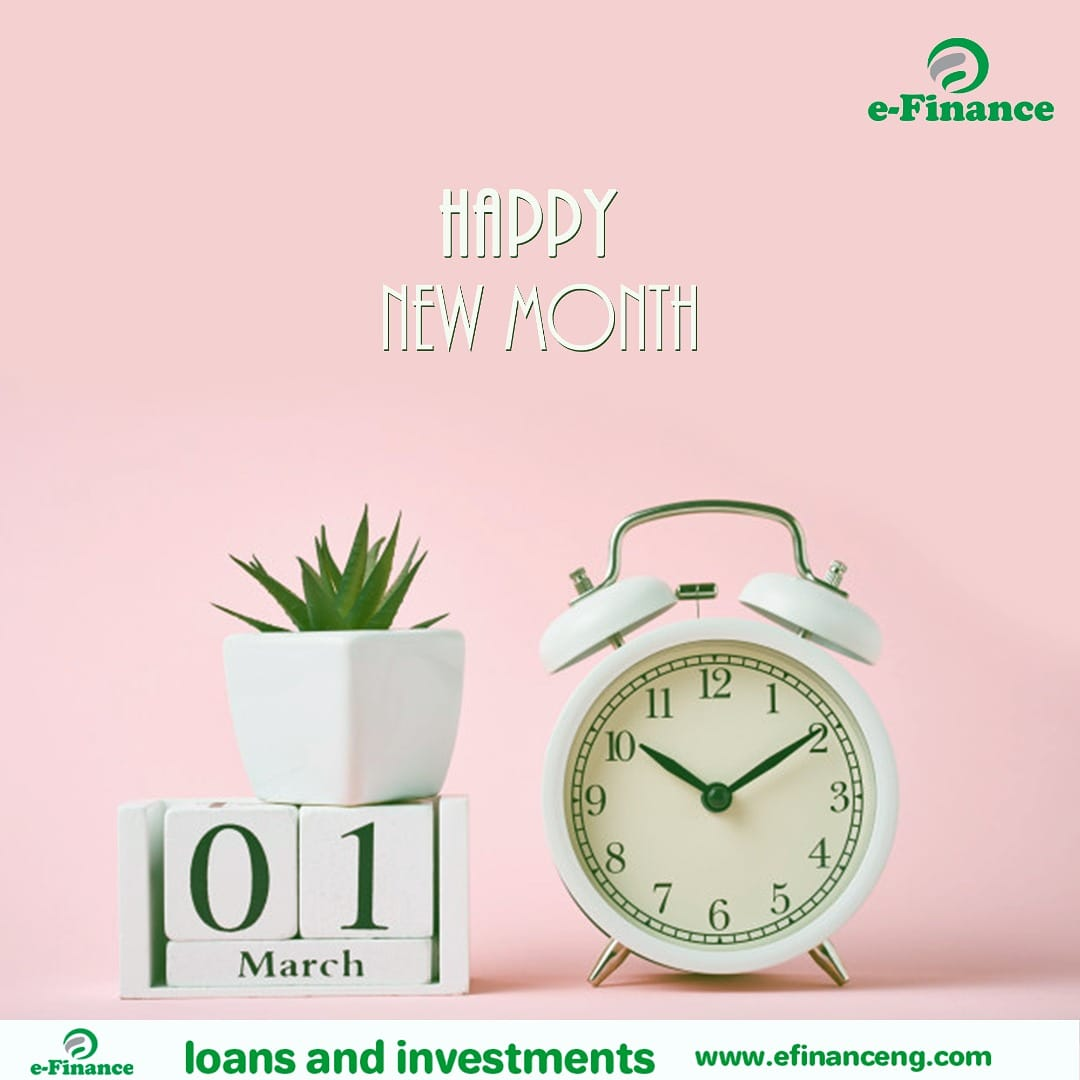 Hooray!! It's a brand new month. The clock is ticking now. This is the last month of the first quarter. Make it count!  Happy March. #happynewmonth #hellomarch #work #newweek #life #time #Days #congratulations #efinanceng