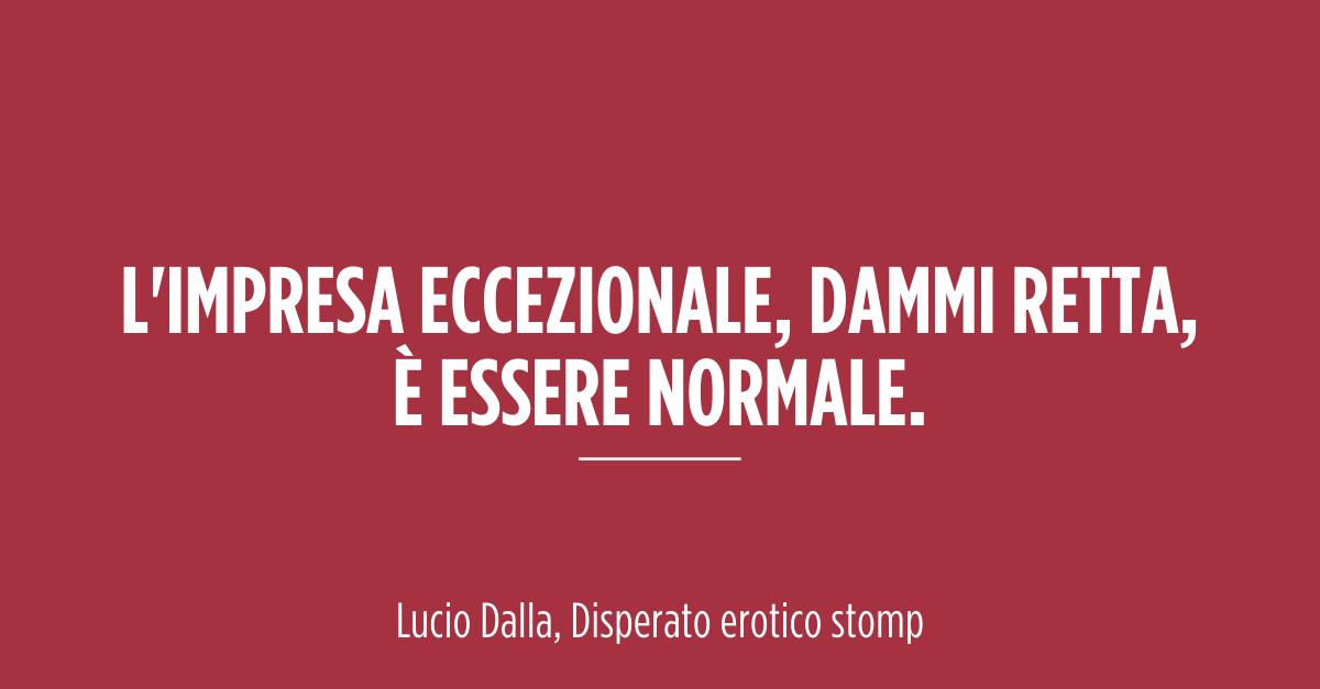 #LucioDalla