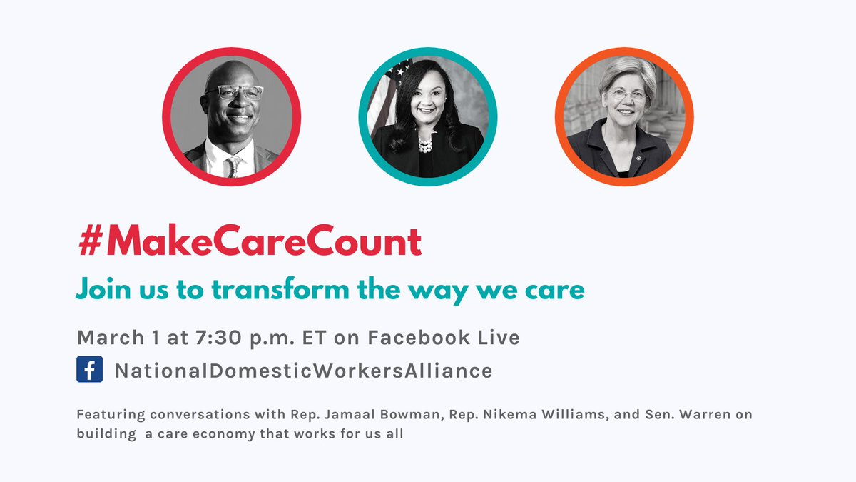 Happening tonight!  RSVP on Facebook and join us tonight for a conversation about how we can #MakeCareCount.