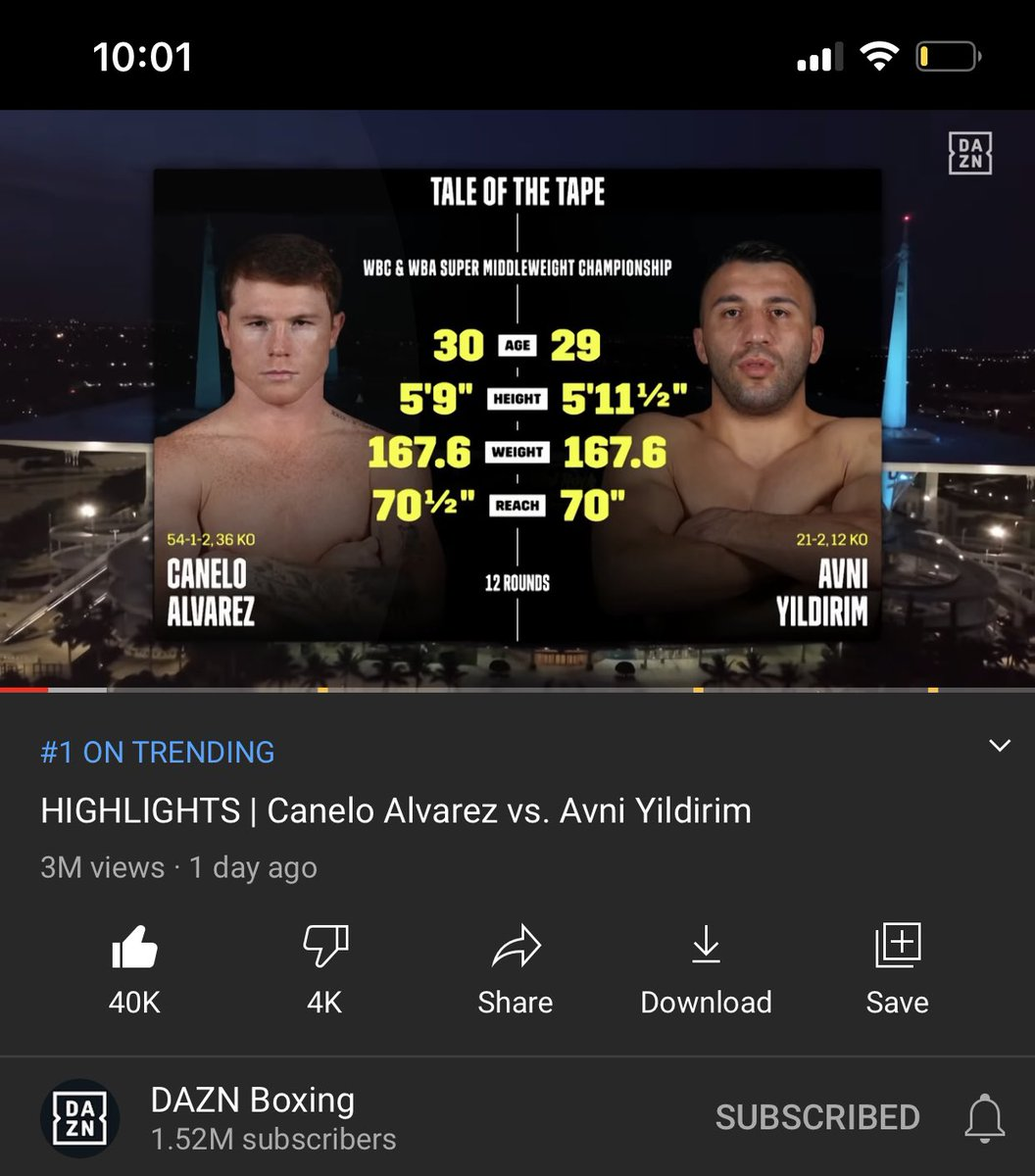 Haters made this crap fight trend #1 on YouTube. 🤦♂️ #Boxing